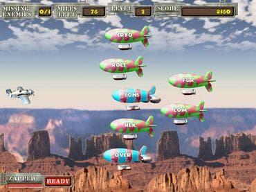 Air Typer - Typing Game Free Game