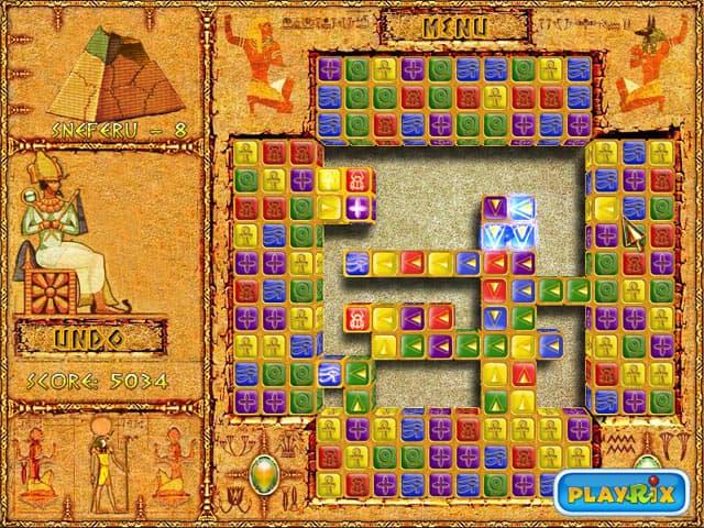 Brickshooter Egypt Screenshot 1