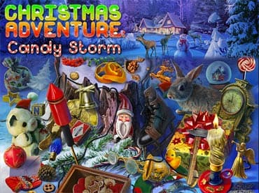 Christmas Adventure: Candy Storm Free Game