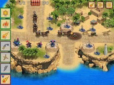Defense of Egypt: Cleoptara Mission Free Game