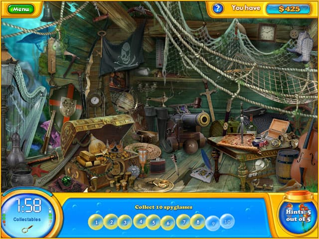 The Curse Of King Tuts Tomb Torrent: Screenshot Fishdom H2O: Hidden Odyssey