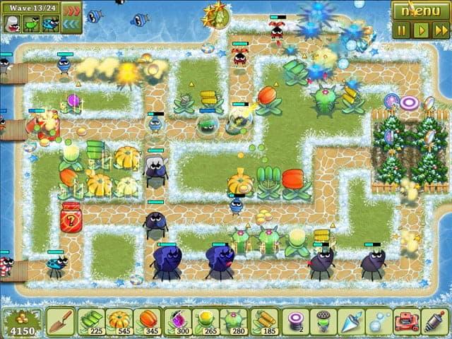 Garden Rescue: Christmas Edition Screenshot 1