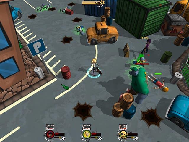 Hot Zomb: Zombie Survival Screenshot 0