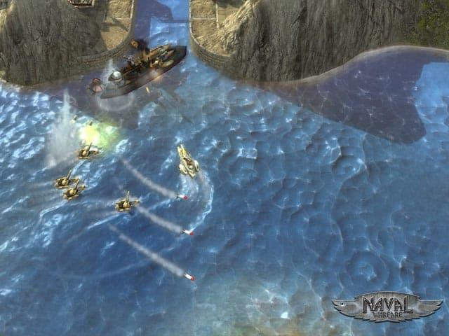 Naval Warfare Screenshot 1