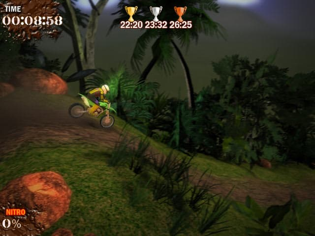 Super Motocross Deluxe Screenshot 1