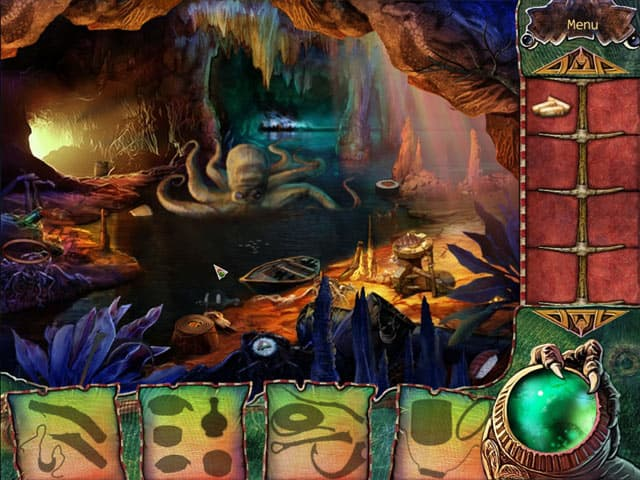 The Curse Of King Tuts Tomb Torrent: Screenshot The Witch's Green Amulet