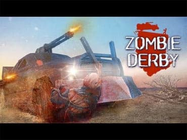 Zombie Derby. Ride to Survive! Free Game