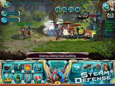 Steam Defense Free Game