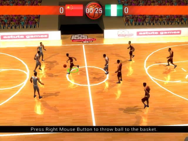 Basketball World Mac Game Screenshot
