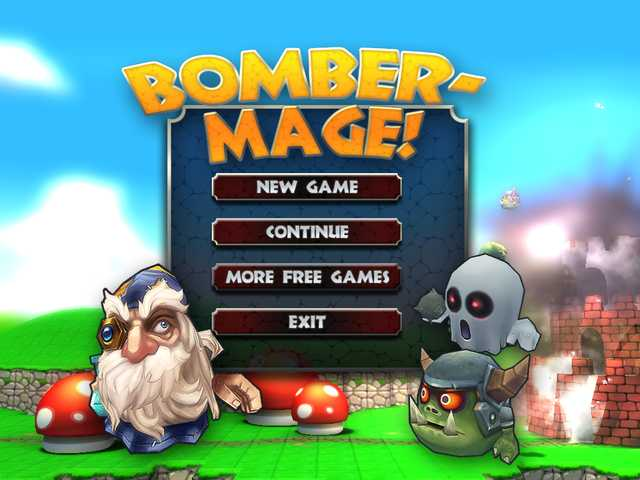 Bomber Mage Mac Game Screenshot