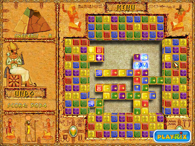 Brickshooter Egypt Mac Game Screenshot