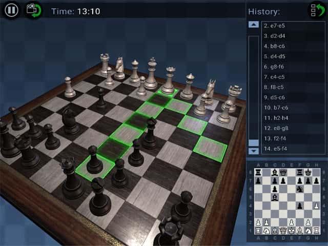 Chess Pro 3D Mac Game Screenshot