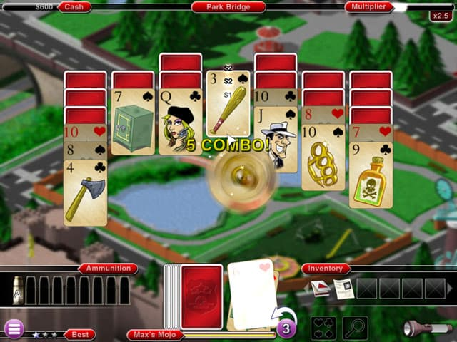 Crime Solitaire 2 Mac Game Screenshot