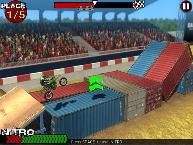 Dirt Bike Extreme Mac Game Screenshot
