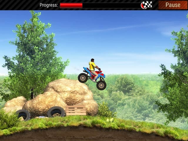 Extreme ATV Trials Mac Game Screenshot
