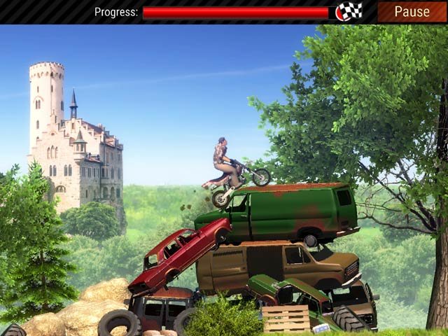 Extreme Bike Trials Mac Game Screenshot