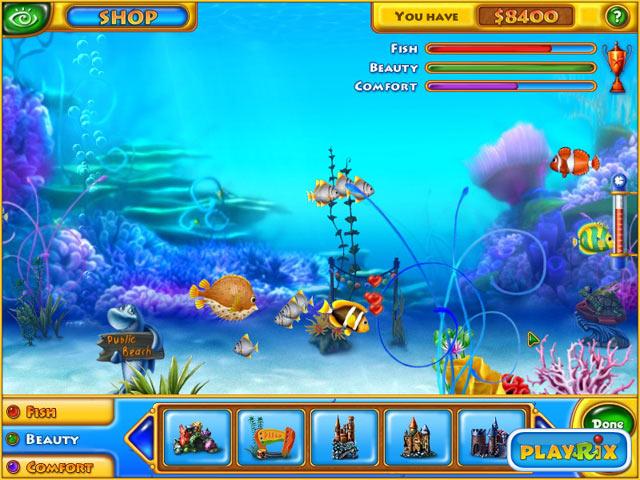 Fishdom Mac Game Screenshot