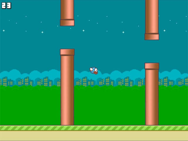 Flappy Bird New Mac Game Screenshot