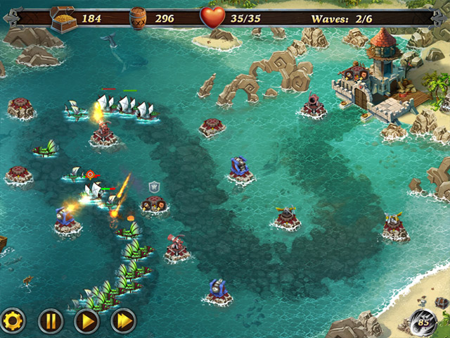Fort Defense 3 Mac Game Screenshot