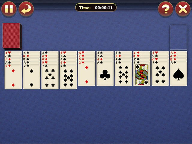 Lucky Spider Solitaire Mac Game Screenshot