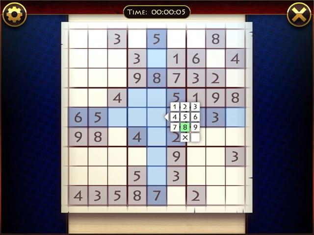 Lucky Sudoku Mac Game Screenshot