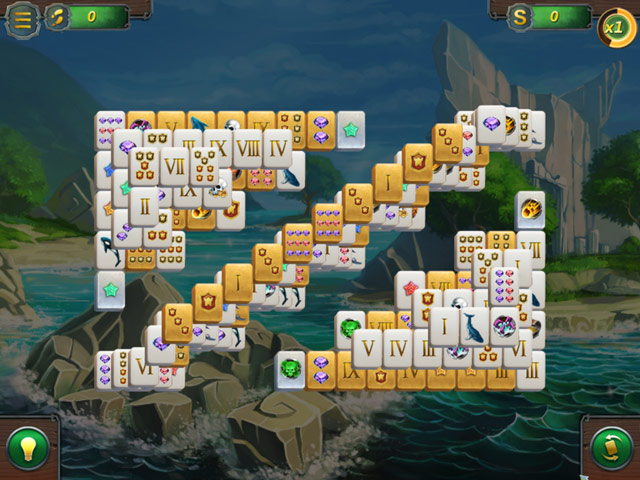 Mahjong Gold Mac Game Screenshot