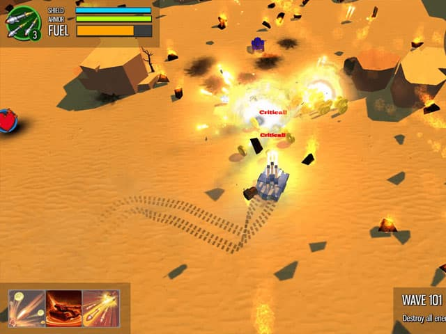 Mini Metal Mac Game Screenshot