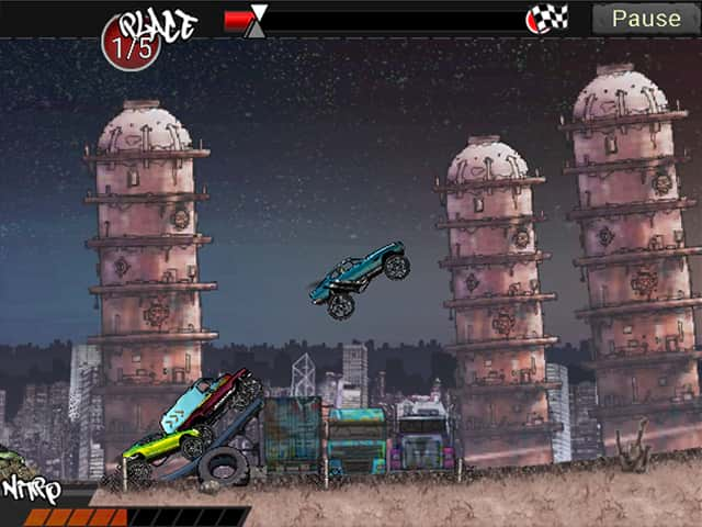 Monster Trucks Urban Race Mac Game Screenshot