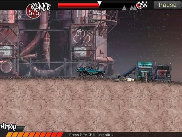Monster Trucks Urban Race Mac Game Screenshot