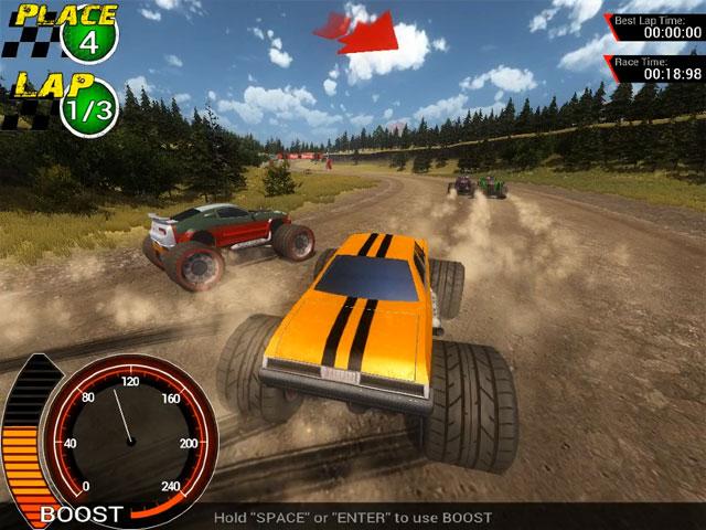 Off-Road Super Racing Mac Game Screenshot