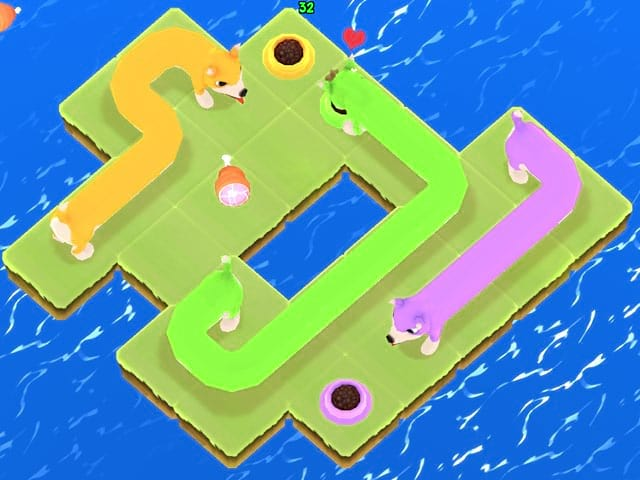 Puzzle Puppers Mac Game Screenshot