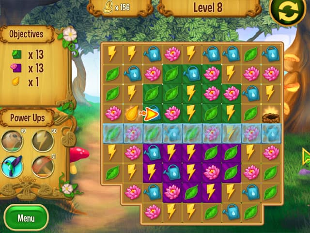 Queen's Garden Mac Game Screenshot