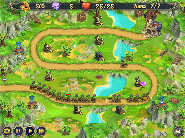 Royal Defense Mac Game Screenshot