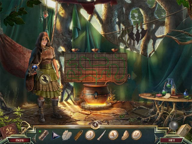 Sacred Almanac: Traces of Greed Mac Game Screenshot