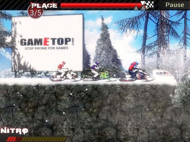 Snowmobile Extreme Racing Mac Game Screenshot