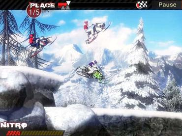 Snowmobile Extreme Racing Mac Game