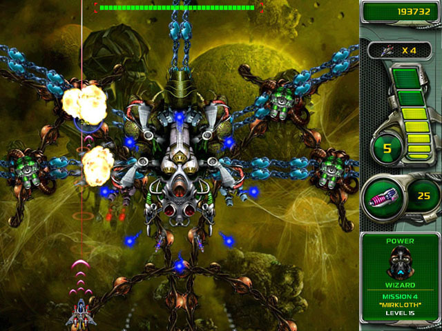 Star Defender 3 Mac Game Screenshot