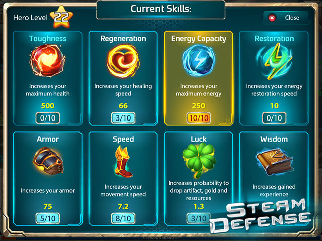 Steam Defense Mac Game Screenshot