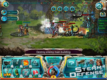 Steam Defense Mac Game