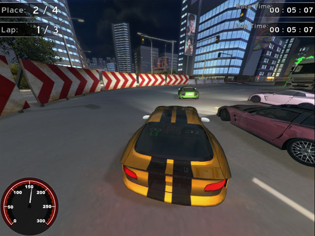 Supercars Racing Mac Game Screenshot