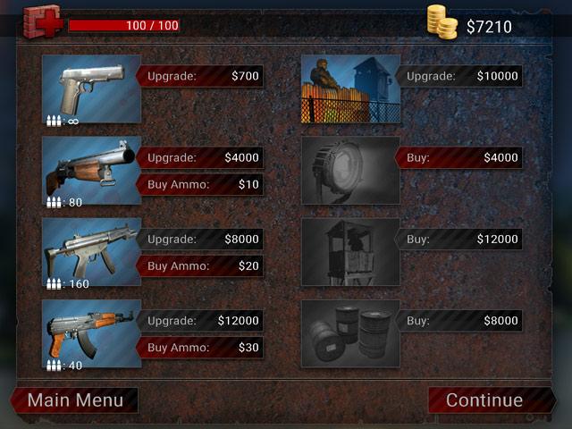 Zombie Apocalypse Mac Game Screenshot