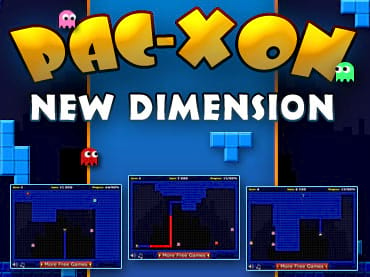 Pacxon New Dimension Online Games